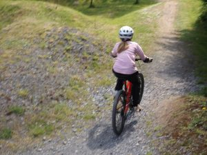 School Mountain Biking Carmarthen Morfa Bay